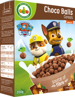 Appy Kids Co Paw Patro ChoCo Balls Cereals