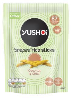 Yushoi Snacks - Coconut & Chili