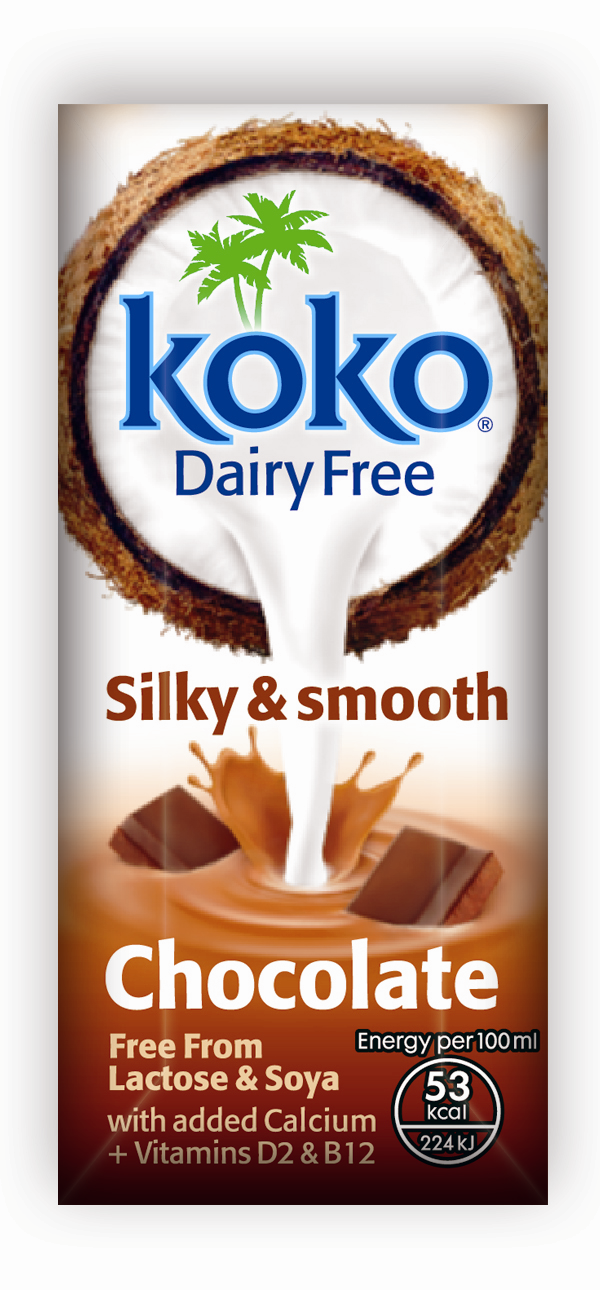 Koko Dairy Free Chocolate UHT 250ml