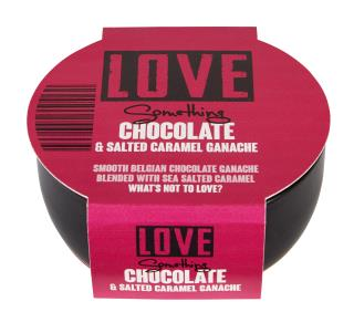 Chocolate & Salted Caramel Ganache