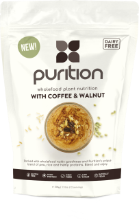 PURITION Wholefood Plant Nutrition: with Coffee & Walnut