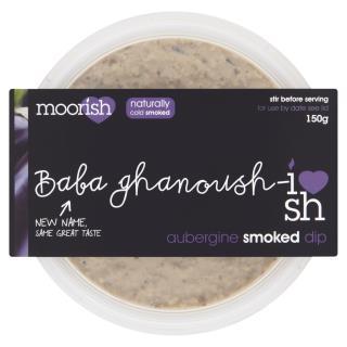 Moorish - Aubergine Babaghanoush Smoked Dip
