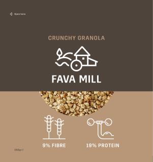 Fava Mill - Fava Bean Granola