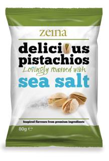 Zeina Delicious Sea Salt Pistachios